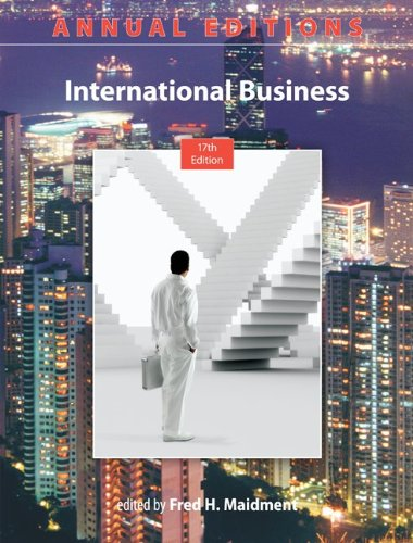 International Business  17th 2013 edition cover