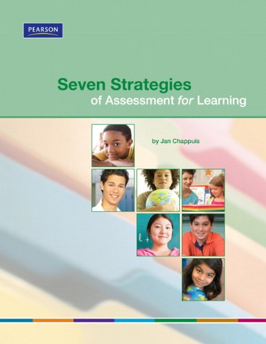 Seven Strategies of Assessment for Learning   2010 edition cover