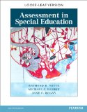 Assessment in Special Education   2015 edition cover