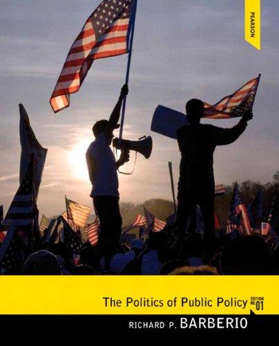 Politics of Public Policy   2014 edition cover