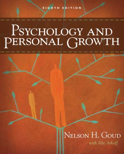 Psychology and Personal Growth  8th 2009 edition cover