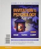 Invitation to Psychology, Books a la Carte Edition  6th 2015 edition cover