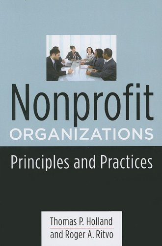 Nonprofit Organizations Principles and Practices  2008 edition cover