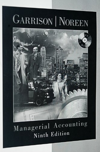 Managerial Accounting:  9th 2000 9780256260755 Front Cover