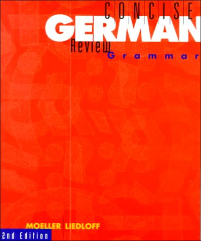 Concise German Review Grammar  2nd 1995 edition cover