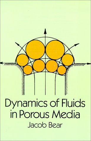 Dynamics of Fluids in Porous Media   1988 (Reprint) edition cover