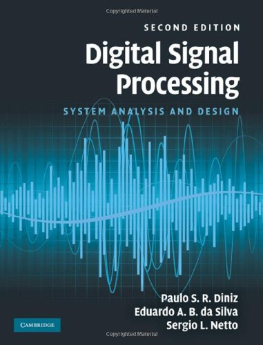 Digital Signal Processing System Analysis and Design 2nd 2010 edition cover