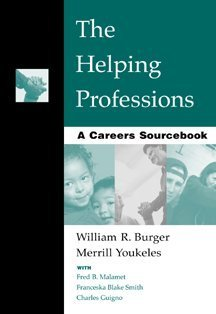 Helping Professions A Careers Sourcebook  2000 edition cover