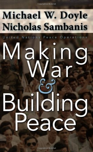Making War and Building Peace United Nations Peace Operations  2006 edition cover