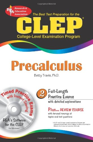 CLEP� Precalculus  N/A 9780738601755 Front Cover