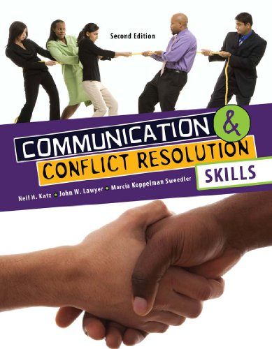 Communication and Conflict Resolution Skills  2nd (Revised) edition cover