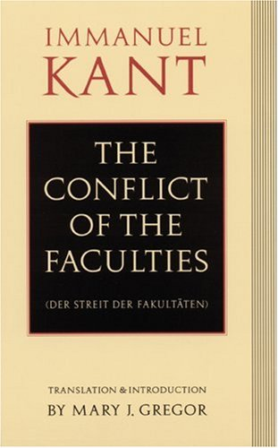 Conflict of the Faculties   1992 edition cover