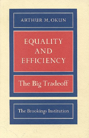 Equality and Efficiency The Big Tradeoff N/A edition cover