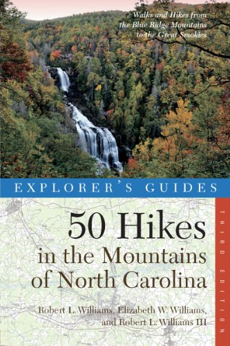 50 Hikes in the Mountains of North Carolina 3rd Edition  3rd 9780881509755 Front Cover