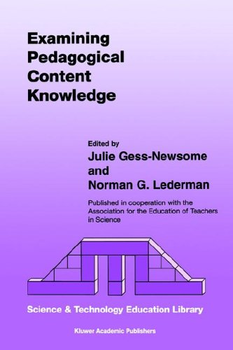 Examining Pedagogical Content Knowledge   1999 9781402002755 Front Cover