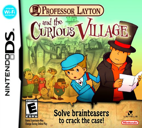 Professor Layton and the Curious Village - Nintendo DS Nintendo DS artwork