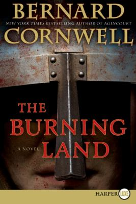 Burning Land  Large Type 9780060888756 Front Cover