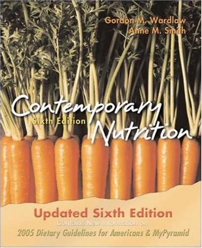 Contemporary Nutrition UPDATE N/A edition cover