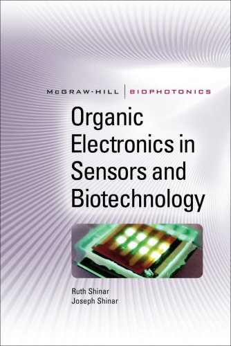 Organic Electronics in Sensors and Biotechnology   2009 9780071596756 Front Cover
