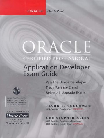 Oracle Certified Professional Application Developer Exam Guide   1999 edition cover