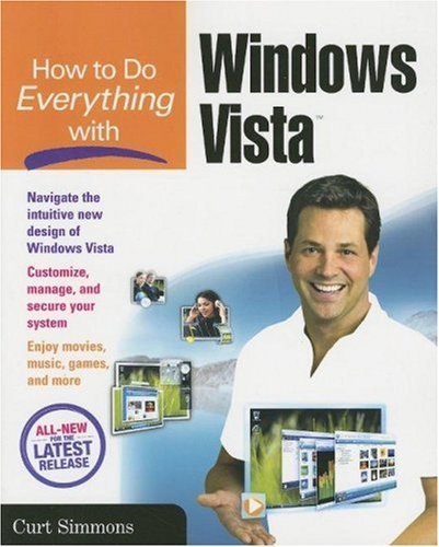 How to Do Everything with Windows Vista   2007 9780072263756 Front Cover