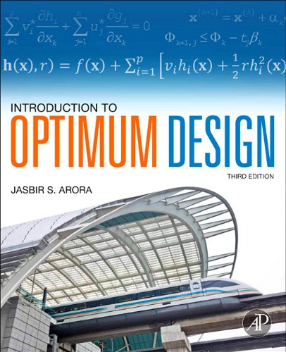 Introduction to Optimum Design  3rd 2011 edition cover