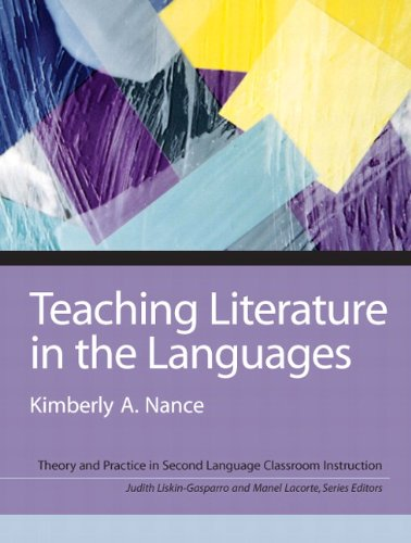 Teaching Literature in the Languages   2010 edition cover