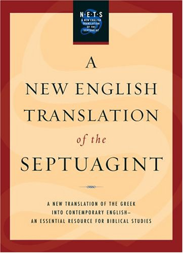 New English Translation of the Septuagint   2007 edition cover
