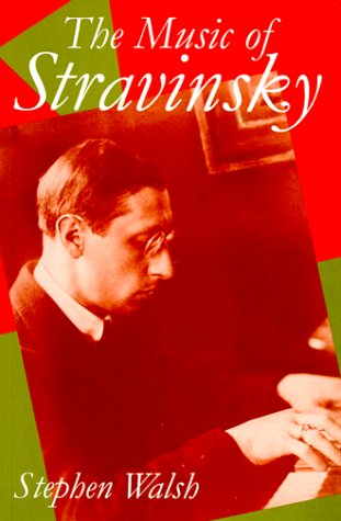 Music of Stravinsky   1993 edition cover