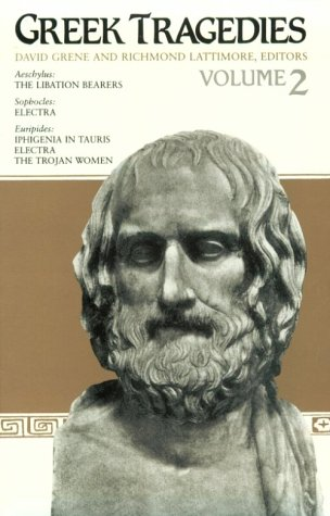 Greek Tragedies  N/A 9780226307756 Front Cover