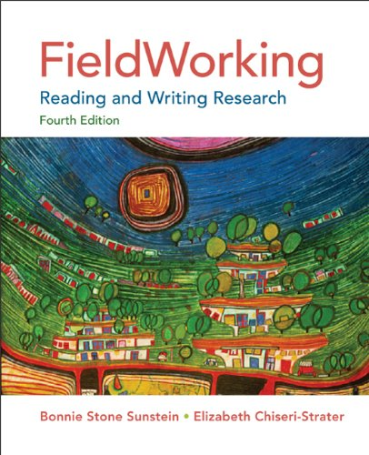 FieldWorking Reading and Writing Research 4th 2012 9780312622756 Front Cover