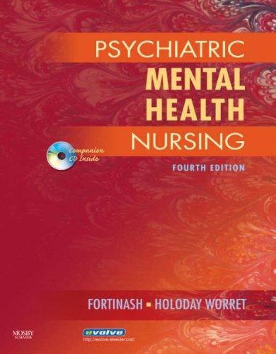 Psychiatric Mental Health Nursing  4th 2007 (Revised) edition cover