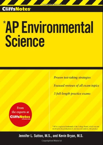 CliffsNotes AP Environmental Science   2011 edition cover