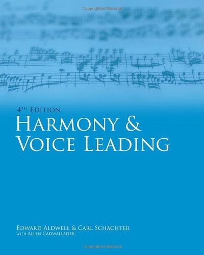 Harmony and Voice Leading  4th 2011 edition cover