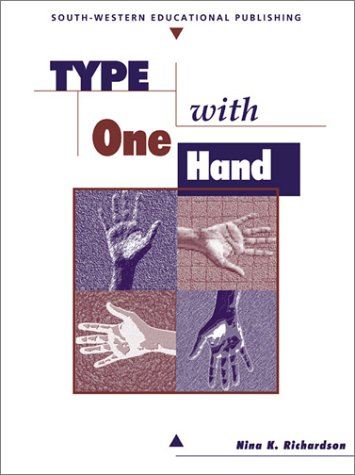 Type with One Hand  3rd 1999 (Revised) 9780538682756 Front Cover