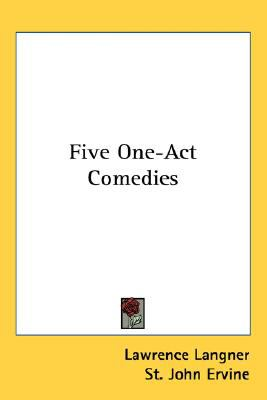 Five One-Act Comedies N/A 9780548470756 Front Cover
