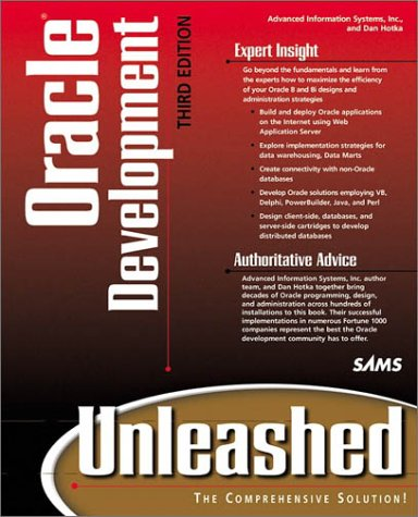 Oracle Unleashed  3rd 1999 9780672315756 Front Cover
