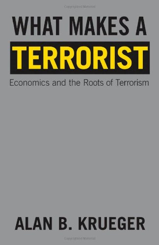 What Makes a Terrorist Economics and the Roots of Terrorism  2009 (Revised) edition cover