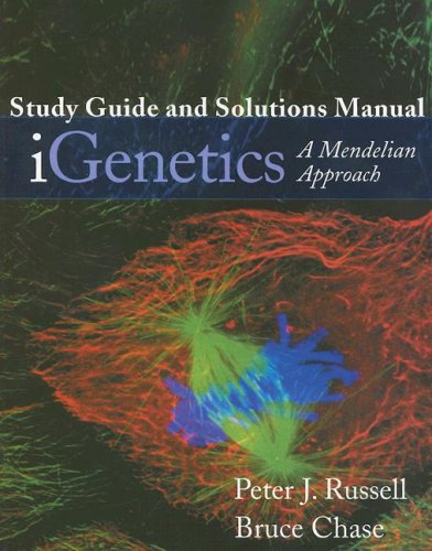 iGenetics A Mendelian Approach  2006 edition cover