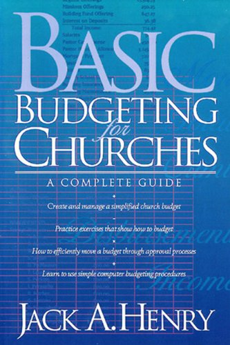 Basic Budgeting for Churches A Complete Guide N/A edition cover