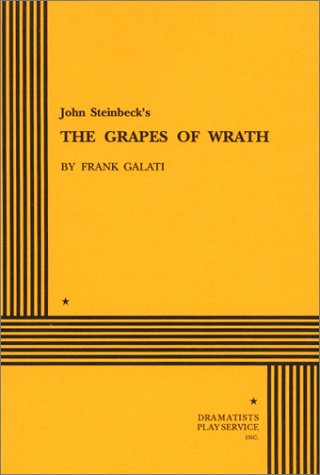 Grapes of Wrath  Adapted  edition cover