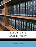 Canadian MacHinery N/A edition cover