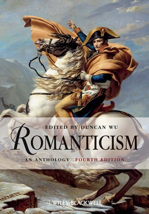 Romanticism An Anthology 4th 2012 edition cover