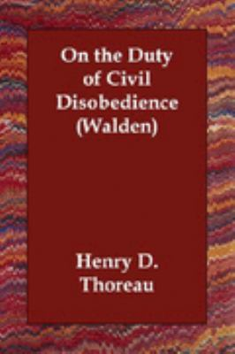 On the Duty of Civil Disobedience Walden  N/A 9781406809756 Front Cover