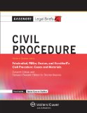 Civil Procedure Keyed to Courses Using Friedenthal, Miller, Sexton, and Hershkoff's Cicil Procedure - Cases and Materials 11th (Student Manual, Study Guide, etc.) edition cover