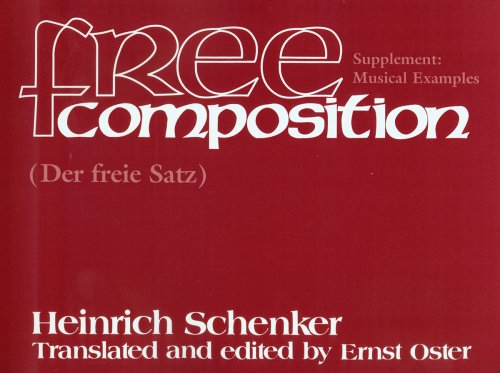 Free Composition Music Examples  2001 9781576470756 Front Cover