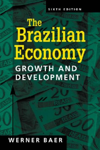 Brazilian Economy Growth and Development, 6th Edition 6th 2007 edition cover