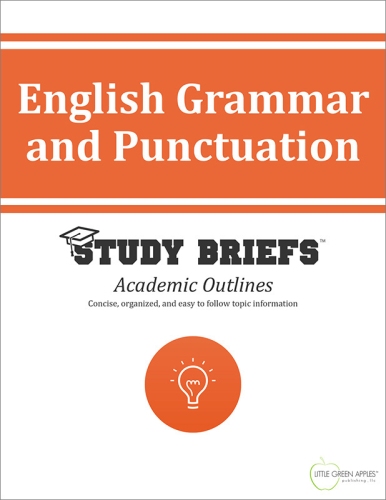 English Grammar and Punctuation   2015 9781634260756 Front Cover