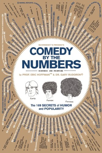 Comedy by the Numbers The 169 Secrets of Humor and Popularity  2010 edition cover