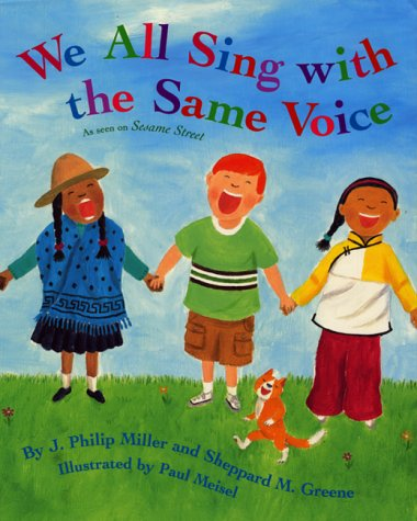 We All Sing with the Same Voice   2001 9780060274757 Front Cover